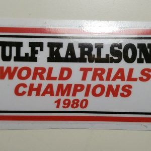 Ulf Karlson pegatina
