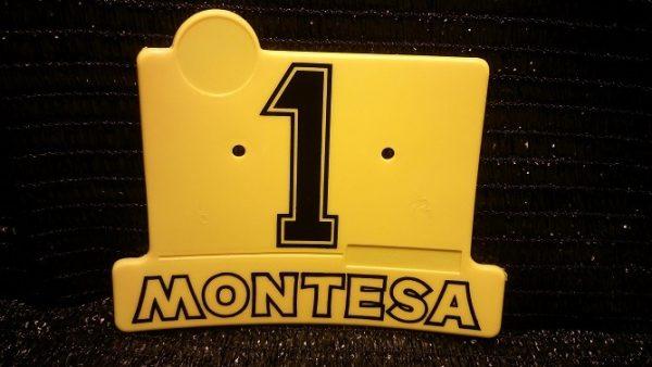 Placa porta-numero montesita