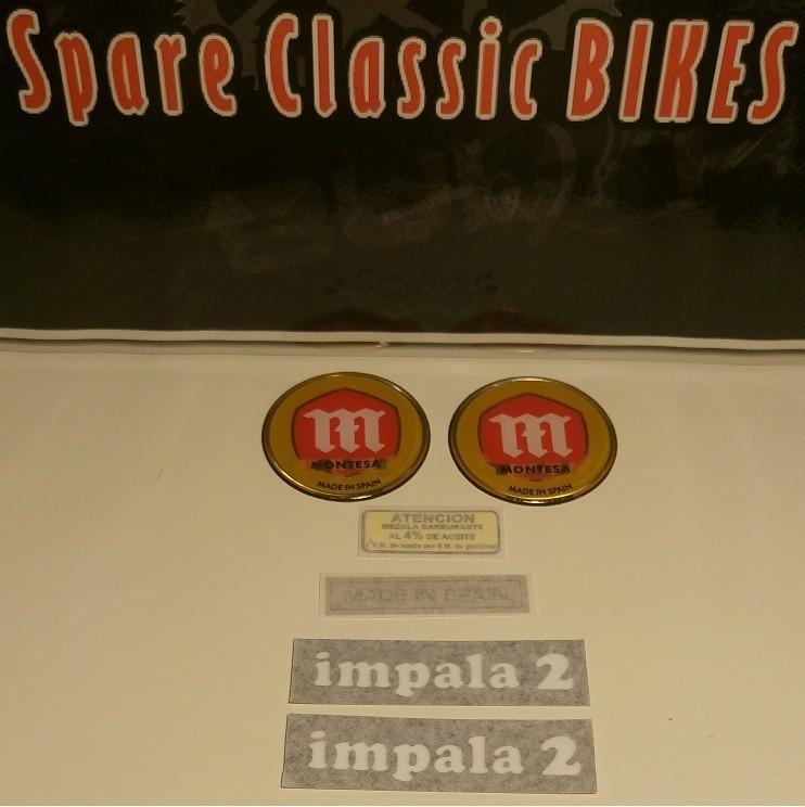 Kit pegatinas adhesivos Impala 2