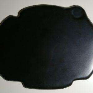Tapa delantera Cappra (negro)