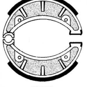 Juego mordazas freno Montesa Ciclo, Cota (Varios modelos)